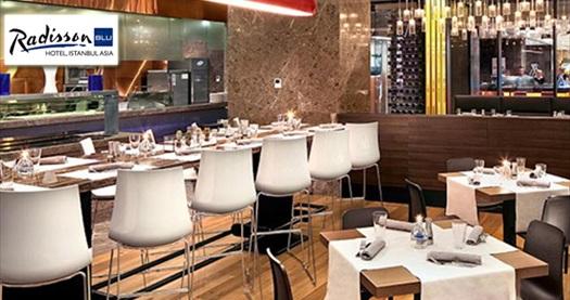 Ataşehir Radisson Blu Hotel İstanbul Asia'da çay saati menüsü eşliğinde doğum günü partisi 700 TL'den başlayan fiyatlarla! Fırsatın geçerlilik tarihi için DETAYLAR bölümünü inceleyiniz.