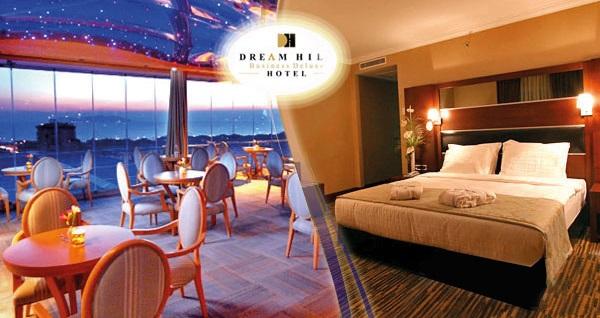 Anadolu yakasının konfor adresi Dream Hill Business Deluxe Hotel'de çift kişilik 1 gece konaklama seçenekleri 169 TL'den başlayan fiyatlarla! Fırsatın geçerlilik tarihi için, DETAYLAR bölümünü inceleyiniz.