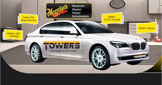 Towers Mecidiyeköy'de 10 farklı araç bakım paketi 19,90 TL'den başlayan fiyatlarla! Fırsatın geçerlilik tarihi için DETAYLAR bölümünü inceleyiniz.