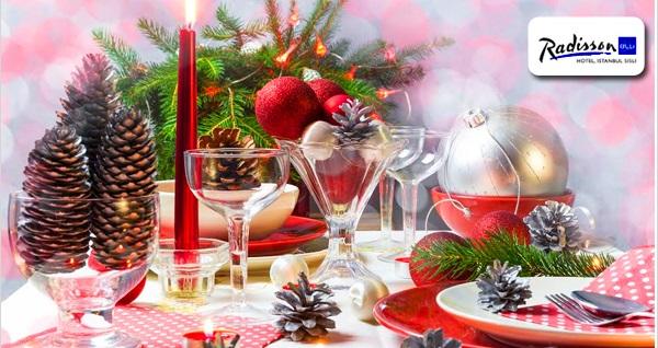 Radisson Blu Hotel Şişli'de limitsiz yerli içecek meşrubat, canlı müzik ve enfes açık büfe lezzetler eşliğinde yılbaşı programı 325 TL! Bu fırsat 31 Aralık 2018 Yılbaşı gecesi için geçerlidir.