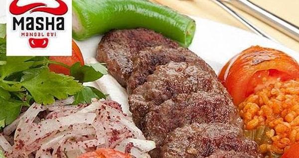Balgat Masha Mangal Evi'nde tavuk ve köfte menüleri 37,50 TL'den başlayan fiyatlarla! Fırsatın geçerlilik tarihi için, DETAYLAR bölümünü inceleyiniz.