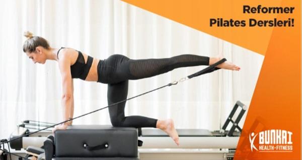 Bunkai Health Fitness'ta seans seçeneğiyle birebir reformer pilates 69 TL'den başlayan fiyatlarla! Fırsatın geçerlilik tarihi için DETAYLAR bölümünü inceleyiniz.