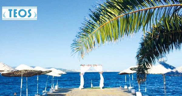 Kınalıada Teos Beach Club'de şezlong ve şemsiye dahil beach girişi 35 TL! Fırsatın geçerlilik tarihi için DETAYLAR bölümünü inceleyiniz.