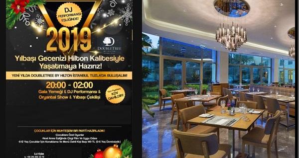 DoubleTree by Hilton İstanbul Tuzla'da limitsiz yerli içecekli yılbaşı gala yemeği ve konaklama seçenekleri 350 TL'den başlayan fiyatlarla! YILBAŞINA ÖZEL; 31 Aralık 2018 gecesi geçerlidir.