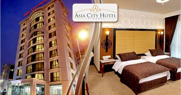 Ataşehir Asia City Hotel'de kahvaltı dahil çift kişilik 1 gece konaklama keyfi 188 TL'den başlayan fiyatlarla! Fırsatın geçerlilik tarihi için DETAYLAR bölümünü inceleyiniz.
