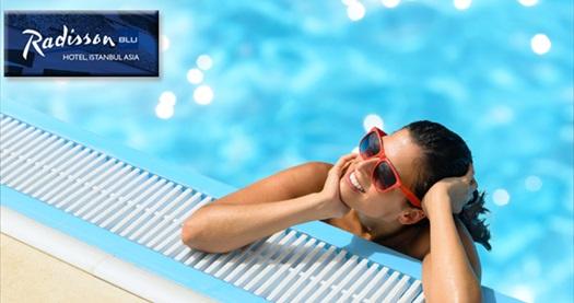 Ataşehir Radisson Blu Hotel Istanbul Asia'da havuz kullanımı 49 TL'den başlayan fiyatlarla! Fırsatın geçerlilik tarihi için DETAYLAR bölümünü inceleyiniz.