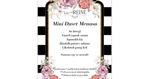 La Reine Patisserie'de kahvaltı tabağı veya mini davet etkinliği 39 TL'den başlayan fiyatlarla! Fırsatın geçerlilik tarihi için DETAYLAR bölümünü inceleyiniz.