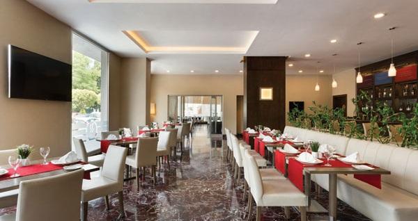 Ramada Plaza İzmir'de kahvaltı dahil çift kişilik 1 gece konaklama seçenekleri 149 TL'den başlayan fiyatlarla! Fırsatın geçerlilik tarihi için, DETAYLAR bölümünü inceleyiniz.