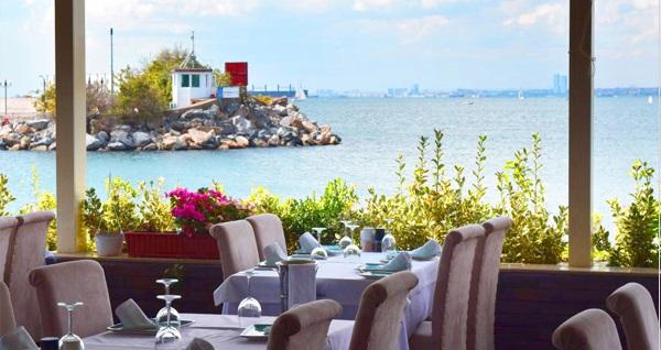 Kalamış Paysage Balık'ta hafta içi her gün geçerli leziz balık menüsü 190 TL! Fırsatın geçerlilik tarihi için DETAYLAR bölümünü inceleyiniz.