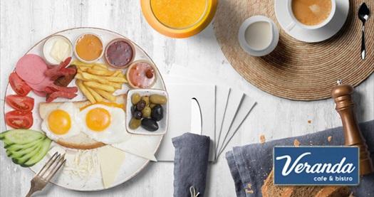 Antalya Golden Orange Hotel Veranda Cafe Bistro'da 2 kişilik serpme kahvaltı 69,90 TL! Fırsatın geçerlilik tarihi için DETAYLAR bölümünü inceleyiniz.