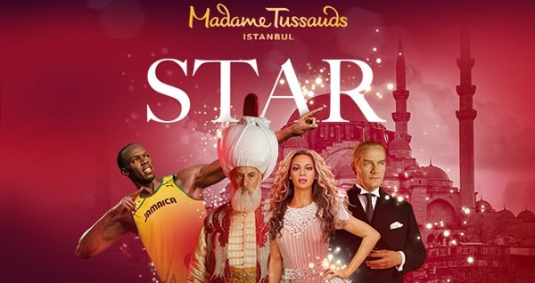 Madame Tussauds İstanbul için giriş biletleri kişi başı 50 TL! Fırsatın geçerlilik tarihi için, DETAYLAR bölümünü inceleyiniz.