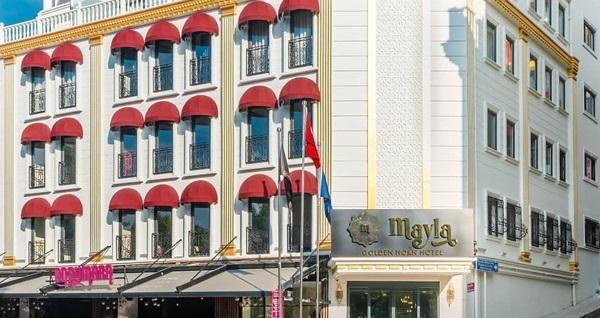 Mayla Hotel Golden Horn - 45'lik Meze'den enfes açık büfe kahvaltı keyfi 90 TL yerine 39 TL! Fırsatın geçerlilik tarihi için DETAYLAR bölümünü inceleyiniz.