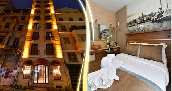 Asmalı Mescit The Pera Hotel'de çift kişilik 1 gece konaklama seçenekleri 169 TL'den başlayan fiyatlarla! Fırsatın geçerlilik tarihi için DETAYLAR bölümünü inceleyiniz.