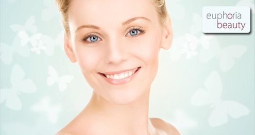 Caddebostan Euphoria Beauty'de size özel cilt bakım paketleri 39 TL'den başlayan fiyatlarla! 30 Ekim 2014 tarihine kadar geçerlidir.