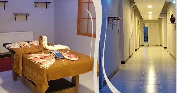 Arakonak Termal Hotel'de 40 dk. klasik İsveç masajı 120 TL yerine 79 TL! Fırsatın geçerlilik tarihi için DETAYLAR bölümünü inceleyiniz.