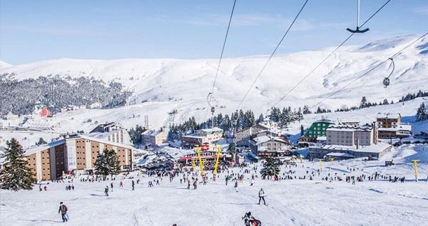 PenguenTepe ile her gün kalkışlı günübirlik Uludağ Kayak Turu