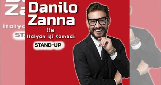 """Danilo Zanna İle İtalyan İşi Komedi adlı gösteriye biletler 90 TL yerine 63 TL! Tarih ve konum seçimi yapmak için """"Hemen Al"""" butonuna tıklayınız."""