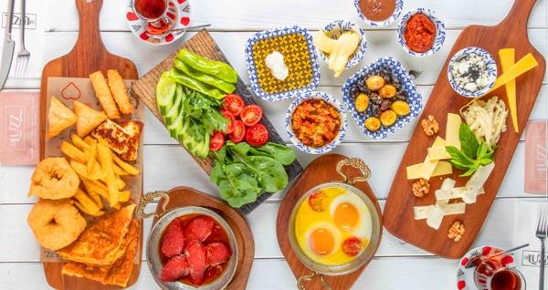 Bakırköy The Luzz Brasserie'de serpme kahvaltı (Dolu dolu mutluluk) + Türk kahvesi (Kişi başı) 59 TL yerine 39,90 TL! Fırsatın geçerlilik tarihi için DETAYLAR bölümünü inceleyiniz.