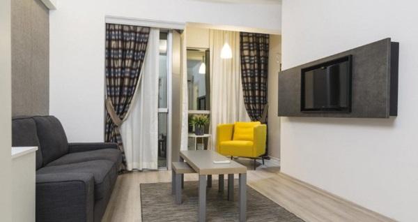 """İzmir'in """"yeni nesil oteli"""" Sun Suit Hotel'de çift kişilik 1 gece konaklama seçenekleri 169 TL'den başlayan fiyatlarla! Fırsatın geçerlilik tarihi için, DETAYLAR bölümünü inceleyiniz."""