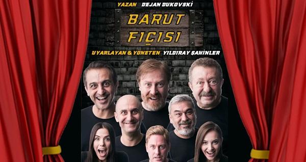 """Balkanlar, Avrupa ve Amerika'dan sonra Türkiye'de sahnelenen """"Barut Fıçısı"""" oyununa biletler 67,50 TL yerine 40 TL! Tarih ve konum seçimi yapmak için """"Hemen Al"""" butonuna tıklayınız."""