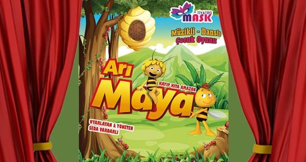 """Çocukların minik kahramanı 'Arı Maya' oyunu için biletler 34 TL yerine 20 TL! Tarih ve konum seçimi yapmak için """"Hemen Al"""" butonuna tıklayınız."""