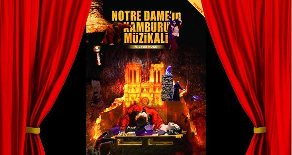 """Notre Dame'ın Kamburu Müzikali'ne biletler 52,80 TL'den başlayan fiyatlarla! Tarih ve konum seçimi yapmak için """"Hemen Al"""" butonuna tıklayınız."""