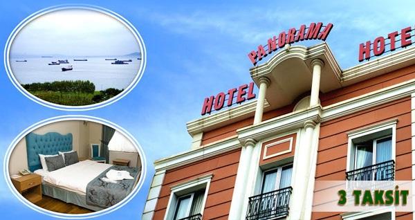 Zeytinburnu Panorama Hotel'de kahvaltı dahil tek veya çift kişilik 1 gece konaklama 179 TL! Fırsatın geçerlilik tarihi için DETAYLAR bölümünü inceleyiniz.