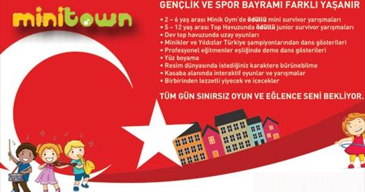 19 Mayıs Atatürkü Anma Gençlik Ve Spor Bayramı Coşkusu Minitownda