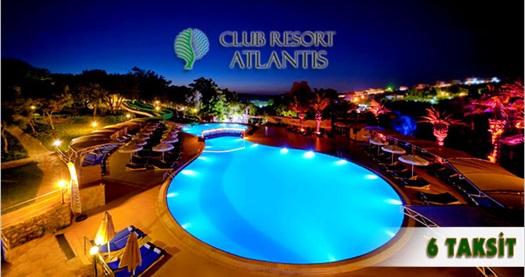 """SINIRLI SAYIDA PAKETLERİ KAÇIRMAYIN! Seferihisar Club Resort Atlantis'te kahvaltı dahil 4 gece 5 gün konaklama, gidiş-dönüş uçak bileti 149 TL'den başlayan fiyatlarla! FARKLI FİYATLARDAKİ TARİH OPSİYONLARI İÇİN """"HEMEN AL""""A TIKLAYIN."""