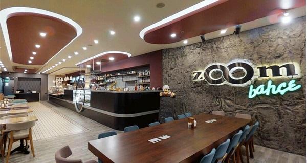 Zoom Bahçe Cafe & Restaurant'ta enfes kahvaltı menüsü 23 TL'den başlayan fiyatlarla! Fırsatın geçerlilik tarihi için DETAYLAR bölümünü inceleyiniz.