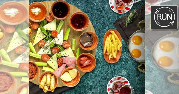 Bayraklı Run Lounge'da Türk kahvesi eşliğinde serpme kahvaltı keyfi 40 TL'den başlayan fiyatlarla! Fırsatın geçerlilik tarihi için, DETAYLAR bölümünü inceleyiniz.