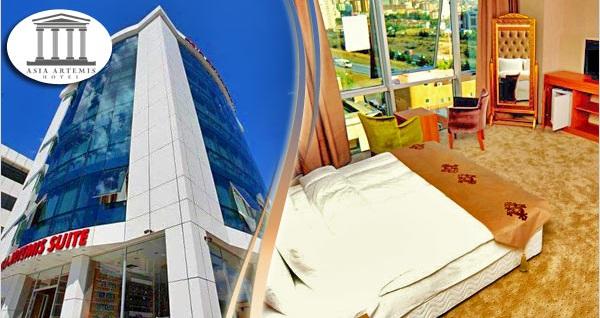 Ataşehir Asia Artemis Suite Hotel'de kahvaltı dahil çift kişilik 1 gece konaklama 219 TL yerine 169 TL! Fırsatın geçerlilik tarihi için, DETAYLAR bölümünü inceleyiniz.