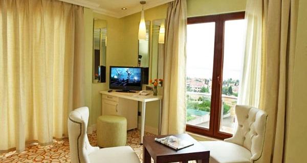 Gebze'nin keyif adresi Bayramoğlu NorthStar Resort Hotel'de açık büfe kahvaltı dahil çift kişilik 1 gece konaklama keyfi 199 TL! Fırsatın geçerlilik tarihi için DETAYLAR bölümünü inceleyiniz.