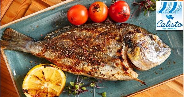 West İstanbul Marina Calisto Balık Restaurant'ta yerli içecek eşliğinde leziz yemek menüsü 79,90 TL! Fırsatın geçerlilik tarihi için DETAYLAR bölümünü inceleyiniz.