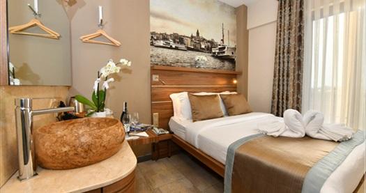 Asmalı Mescit The Pera Hotel'de çift kişilik 1 gece konaklama seçenekleri 159 TL'den başlayan fiyatlarla! Fırsatın geçerlilik tarihi için DETAYLAR bölümünü inceleyiniz.