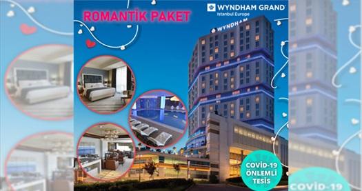 Güneşli Wyndham Grand İstanbul Europe Hotel'de Çift Kişilik Romantik Hafta Sonu Tatil Paketi 449 TL! Fırsatın geçerlilik tarihi için DETAYLAR bölümünü inceleyiniz.