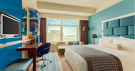 Güneşli Wyndham Grand İstanbul Europe Hotel'de çift kişilik romantik hafta sonu tatil paketi 499 TL! Fırsatın geçerlilik tarihi için DETAYLAR bölümünü inceleyiniz.