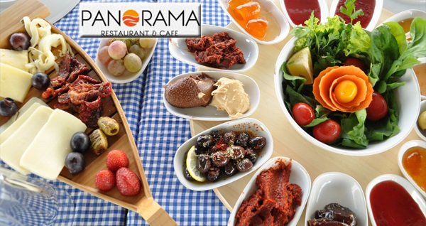 Kuşadası Panorama Restaurant & Cafe'de Samos Adasına nazır Türk kahveli leziz serpme kahvaltı keyfi 29 TL! Fırsatın geçerlilik tarihi için DETAYLAR bölümünü inceleyiniz.