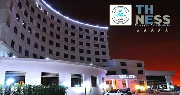 Kocaeli The Ness Thermal Hotel'de havuz kullanımı dahil 1 gece konaklama seçenekleri 389 TL'den başlayan fiyatlarla! Fırsatın geçerlilik tarihi için DETAYLAR bölümünü inceleyiniz.
