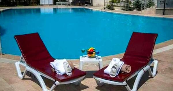 Kurban Bayramı'nda da geçerli Kocaeli The Ness Thermal Hotel'de havuz kullanımı dahil çift kişilik 1 gece konaklama seçenekleri 268 TL'den başlayan fiyatlarla! Fırsatın geçerlilik tarihi için DETAYLAR bölümünü inceleyiniz.