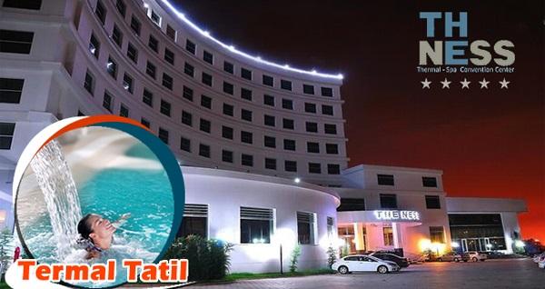 Kocaeli The Ness Thermal Hotel'de havuz kullanımı dahil 1 gece konaklama seçenekleri 119 TL'den başlayan fiyatlarla! Fırsatın geçerlilik tarihi için DETAYLAR bölümünü inceleyiniz.
