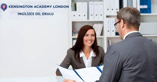 """Mecidiyeköy Kensington Academy London'da 3 saatlik """"İngilizce Mülakat Workshop'u"""" 270 TL yerine 49 TL! 30 Aralık 2014 tarihine kadar geçerlidir."""