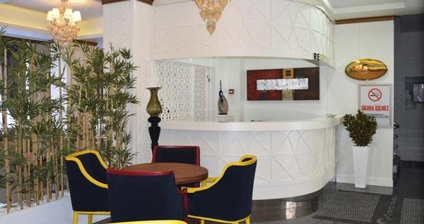 Ankara Grand Sera Otel'de kahvaltı dahil tek veya çift kişilik 1 gece konaklama seçenekleri 130 TL'den başlayan fiyatlarla! Fırsatın geçerlilik tarihi için DETAYLAR bölümünü inceleyiniz.
