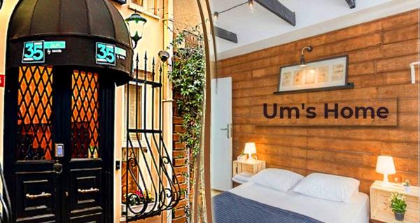Beyoğlu Um's Home'da tek veya çift kişi konaklama seçenekleri 175 TL'den başlayan fiyatlarla! Fırsatın geçerlilik tarihi için DETAYLAR bölümünü inceleyiniz.