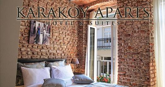 Karaköy Aparts Hotel & Suites'in farklı odalarında kahvaltı dahil çift kişilik 1 gece konaklama 129 TL'den başlayan fiyatlarla! Fırsatın geçerlilik tarihi için, DETAYLAR bölümünü inceleyiniz.