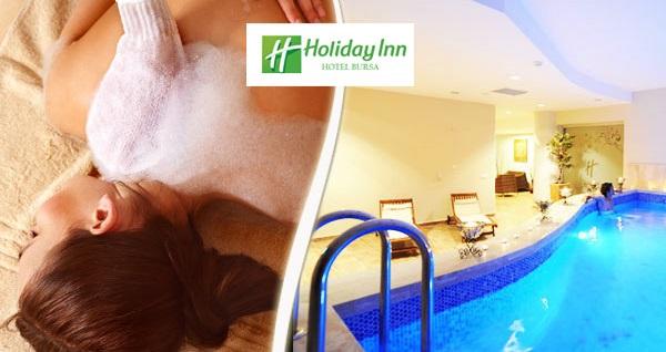 Holiday Inn Day Spa'da masaj seçenekleri ve spa kullanımı 79 TL'den başlayan fiyatlarla! Fırsatın geçerlilik tarihi için DETAYLAR bölümünü inceleyiniz.