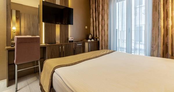Çekirge Hotel Ferro'da tek veya çift kişilik kahvaltı dahil konaklama ve spa seçenekleri 240 TL'den başlayan fiyatlarla! Fırsatın geçerlilik tarihi için DETAYLAR bölümünü inceleyiniz.