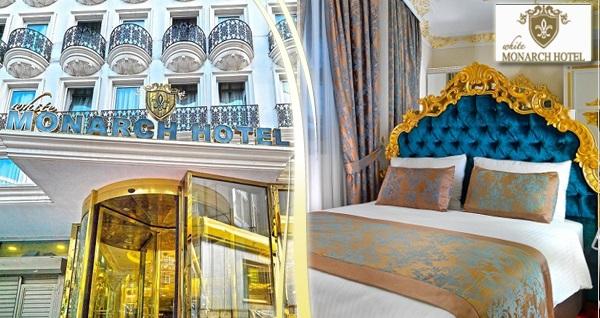 Şişli White Monarch Hotel'de kahvaltı dahil çift kişilik 1 gece konaklama 199 TL'den başlayan fiyatlarla! Fırsatın geçerlilik tarihi için DETAYLAR bölümünü inceleyiniz.
