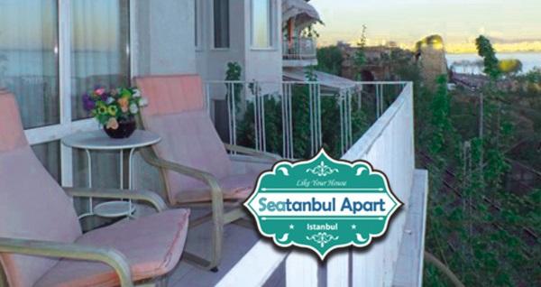 Sultanahmet Seatanbul Apart'ta denize nazır kahvaltı dahil çift kişilik 1 gece konaklama seçenekleri 159 TL'den başlayan fiyatlarla! Fırsatın geçerlilik tarihi için, DETAYLAR bölümünü inceleyiniz.