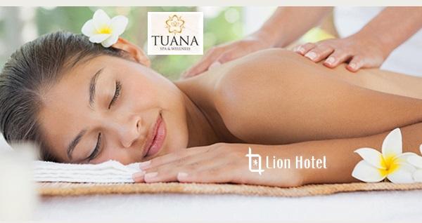 Lion Hotel Tuana Spa'da ruhunuza dokunan masaj paketleri
